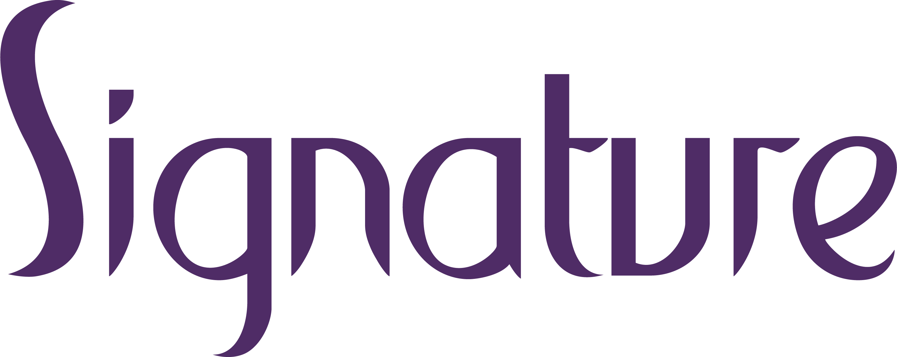 Signature Logo No Strapline Purple 1